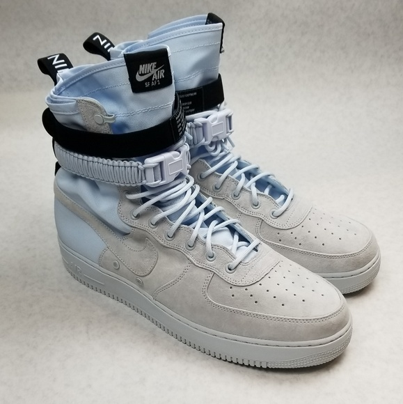 best authentic fb385 80454 Nike SF AF1 High Blue Tint Men s Size 14. M 5c481b21aa5719f0db9ca6b5
